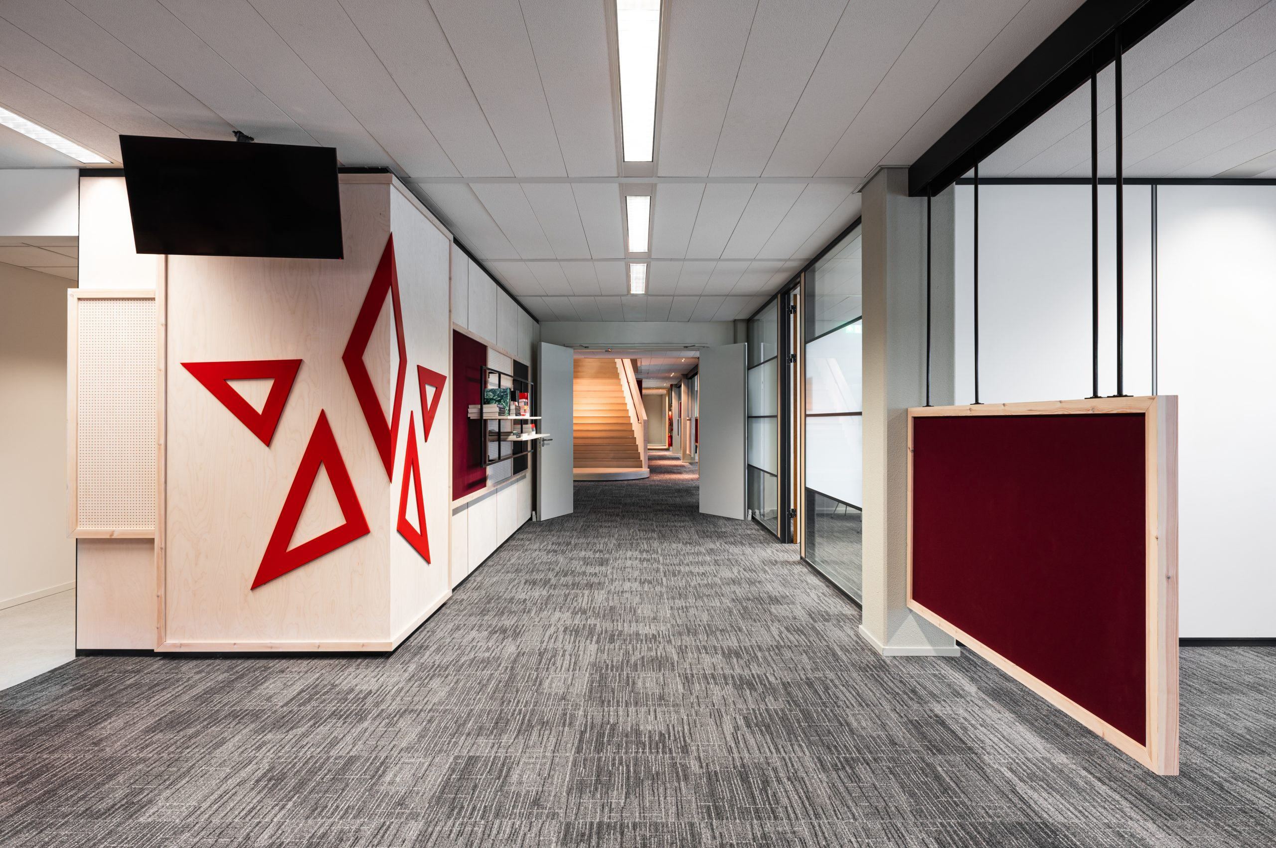 Mecc office hallway