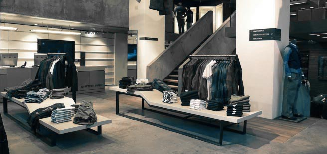 G-star flagship store Amsterdam