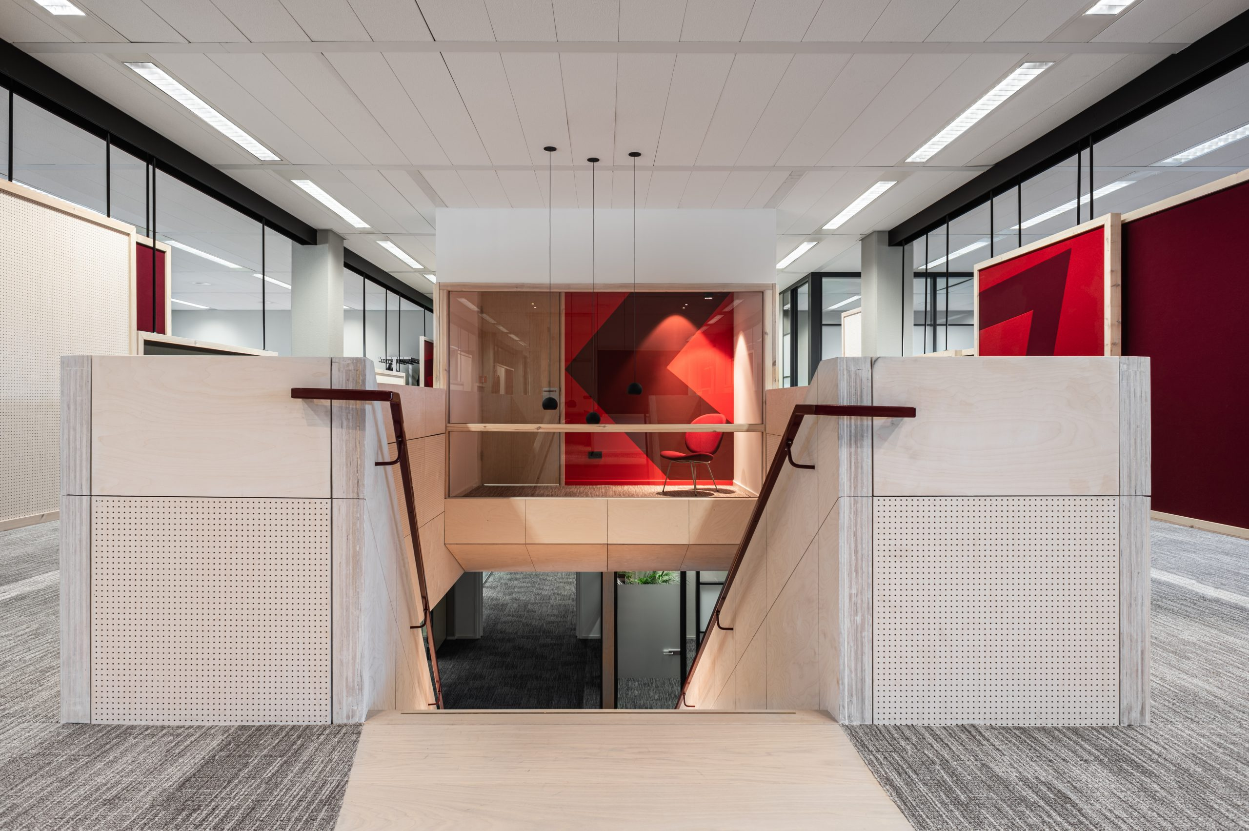 Mecc office maastricht staircase