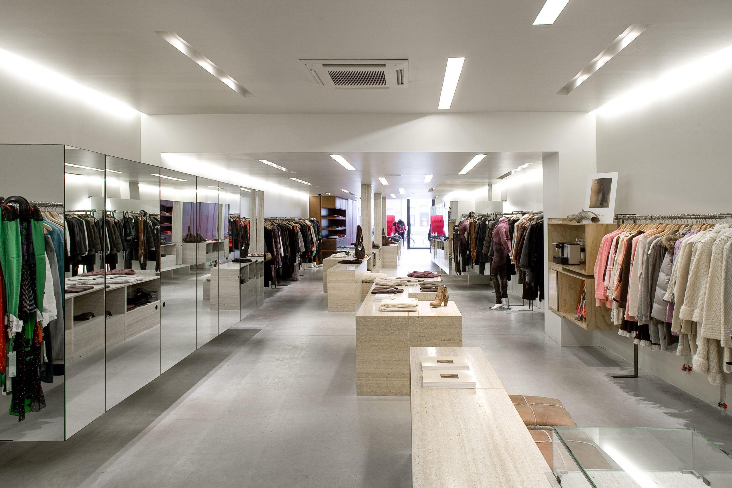 Lodz store design