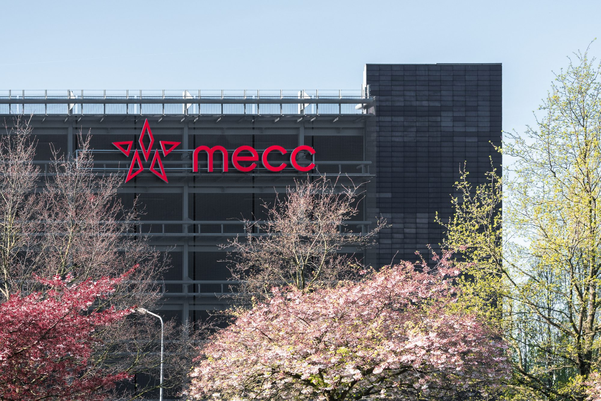 Mecc corporate identity logo