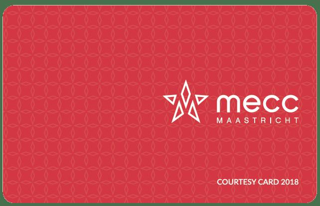 Mecc Courtesy card 2018 design