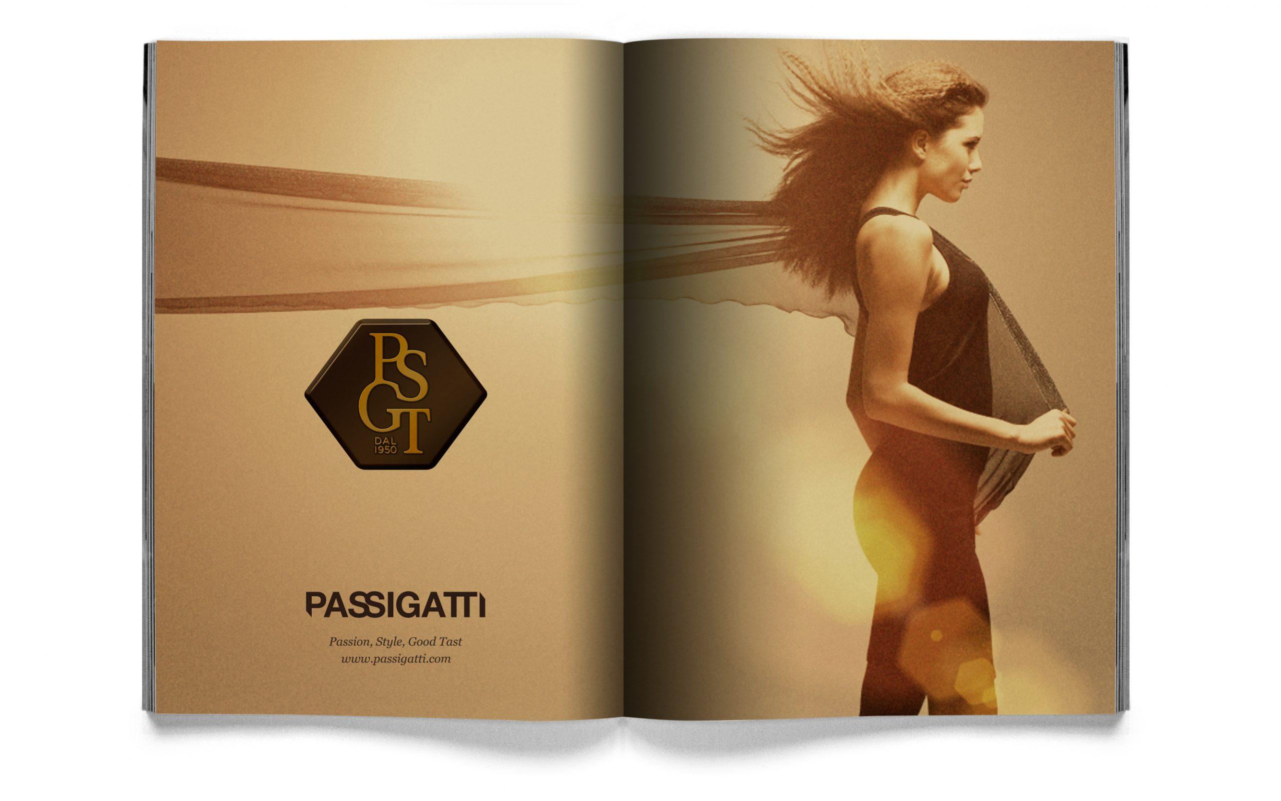 Passigatti book design