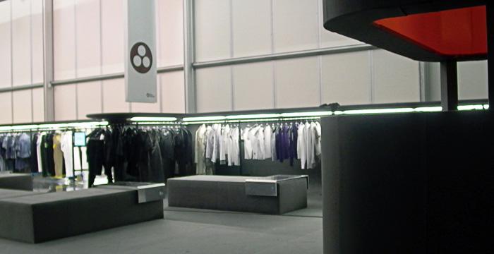 G-star Marc Newson Florence Clothing display
