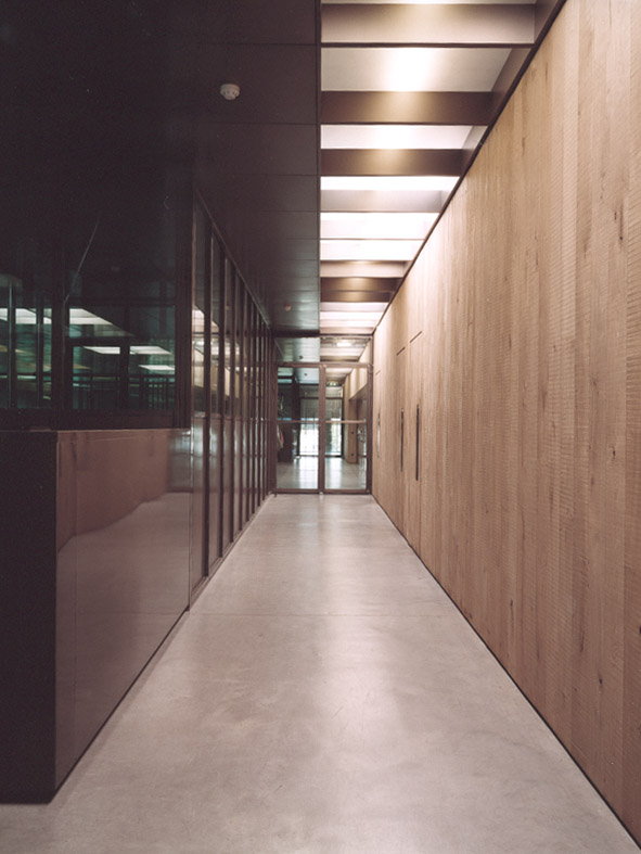 G-star headquarters Amsterdam hallway