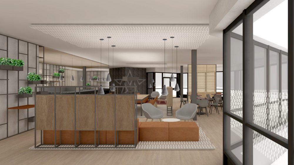 Mecc cafe Maastricht 3d design