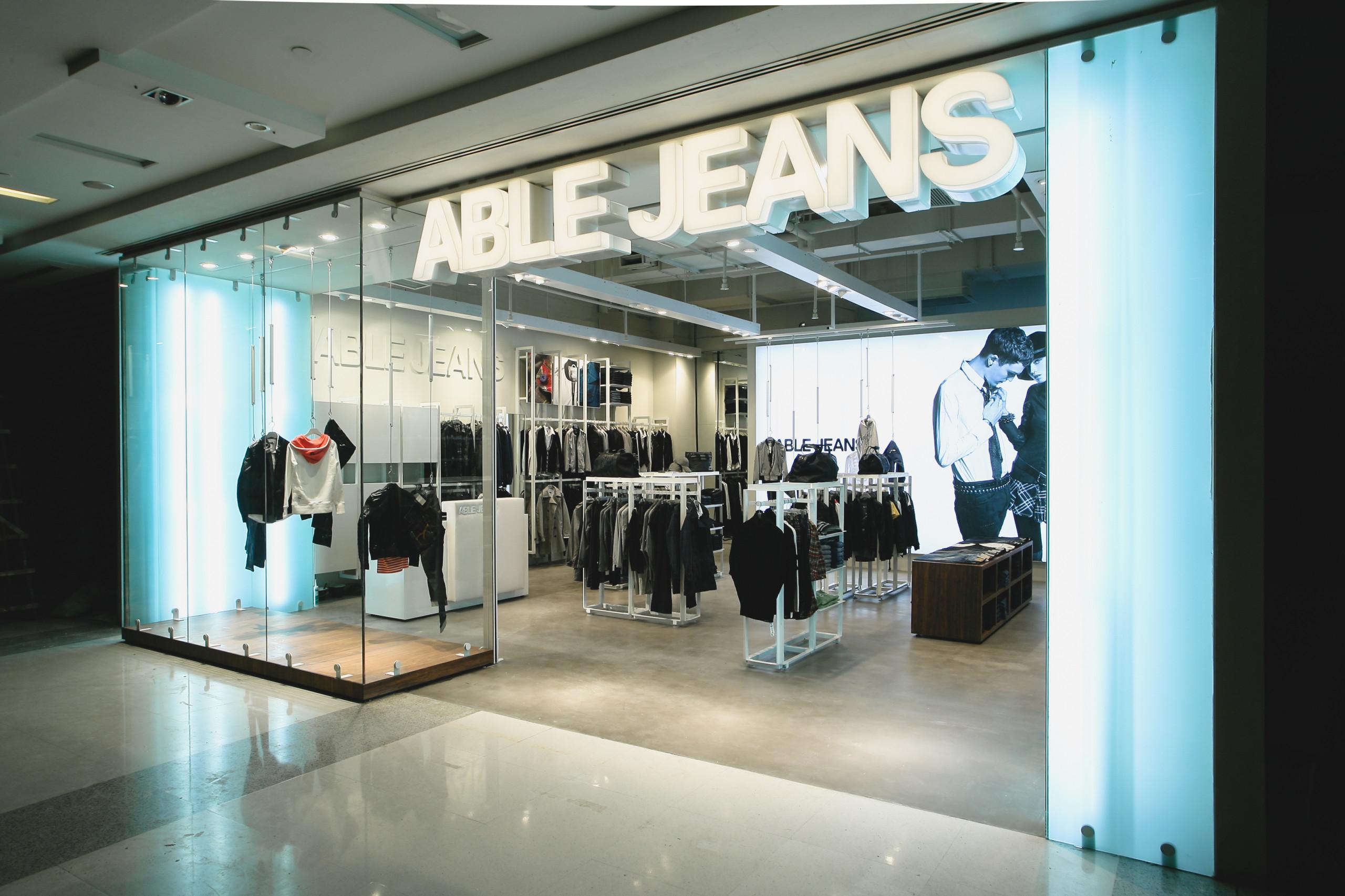 Able Jeans Shanghai entrance
