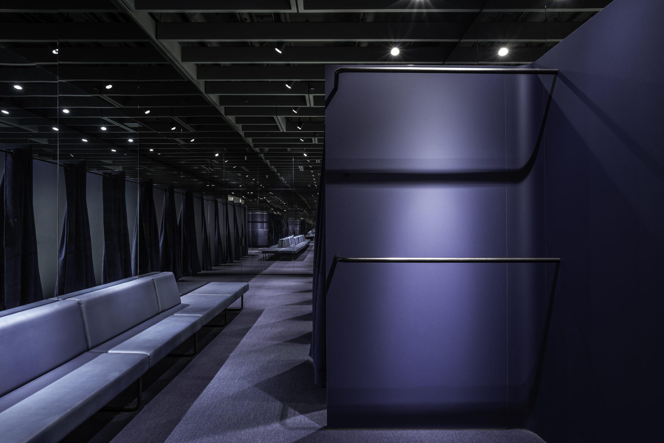 De Bijenkorf Rotterdam changing room